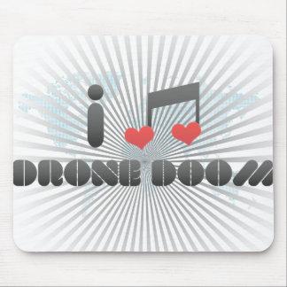 Drone Doom fan Mouse Pads