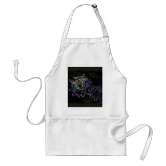 Drone Flower Glow Adult Apron