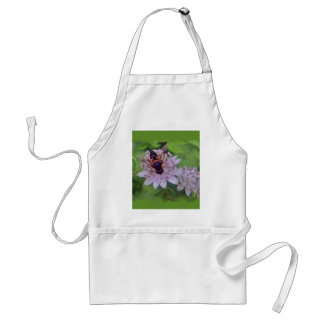 Drone Flower Pattern Adult Apron