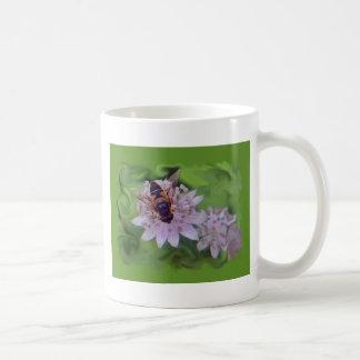 Drone Flower Pattern Coffee Mug
