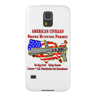 Drone Hunting Permit Galaxy S5 Cover