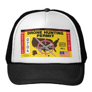 Drone Hunting Permit Shirt Trucker Hat