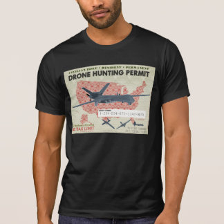 Drone Hunting Permit Shirts