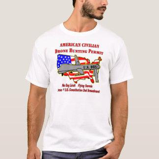 Drone Hunting Permit T-Shirt