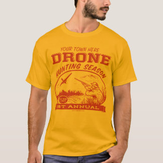 Drone Hunting Season Customizable Shirts