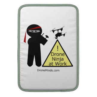 Drone Ninja at Work Sleeve For MacBook Air