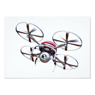 Drone quadrocopter card