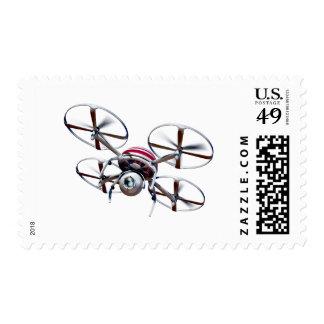 Drone quadrocopter postage