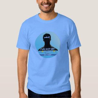 Drone-Shadow Tan T-shirts