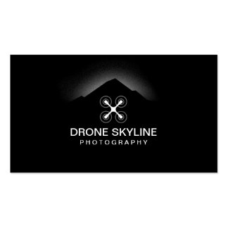 Drone Skyline Aerial Video & Photography Double-Sided Standard Business Cards (Pack Of 100)