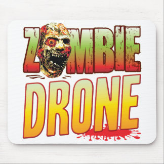 Drone Zombie Head Mouse Pad
