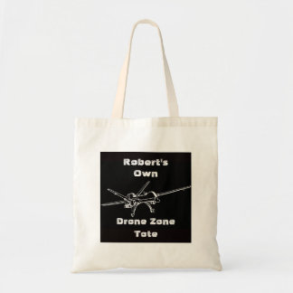 Drone Zone My Name Tote Bag