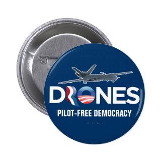 Drones 2012 Button Pinback Button