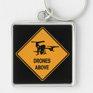 drones above keychain