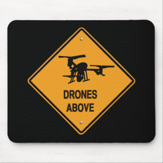 drones above mouse pad