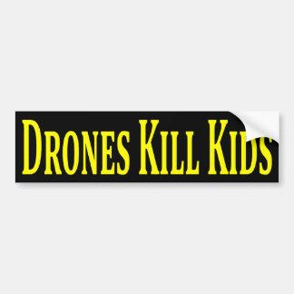 Drones Kill Kids Bumper Sticker