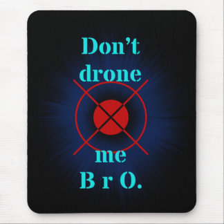 drones mouse pad