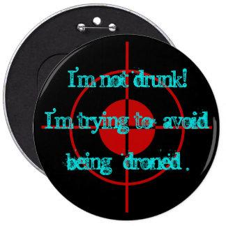 drones pinback button