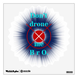 drones wall decal