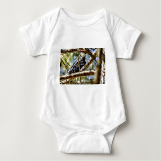 DRONGO RURAL QUEENSLAND AUSTRALIA ART EFFECTS BABY BODYSUIT