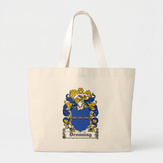 Dronning Family Crest Canvas Bags