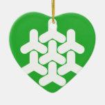 Dronten, Netherlands Christmas Ornament