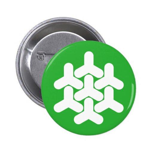 Dronten, Netherlands Pinback Button