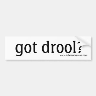 ¿Drool conseguido AZBHR? Pegatina para el parachoq Pegatina Para Auto