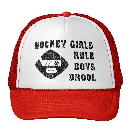 Drool divertido de los muchachos de la regla de gorras