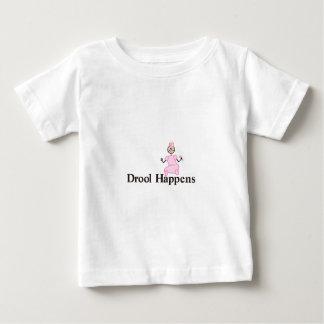 Drool Happens Baby T-Shirt