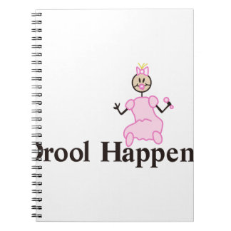 Drool Happens Note Books