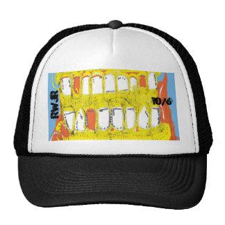 drool mesh hat