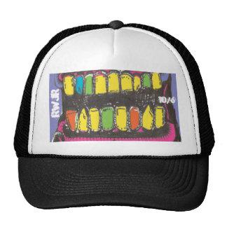 drool mesh hats