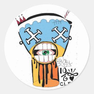Drool Shake Sticker