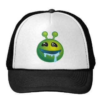 Drooling alien mesh hat