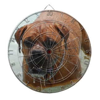 Drooling Bordeaux Mastiff Dart Board