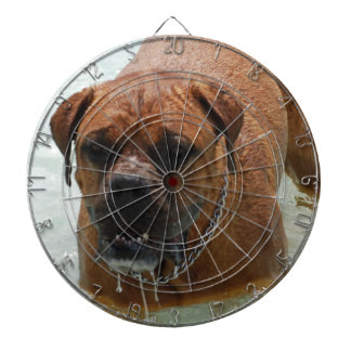 Drooling Bordeaux Mastiff Dartboard