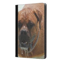 iPad Air Folio Case by Ivoke with Mastiff Phone Cases design