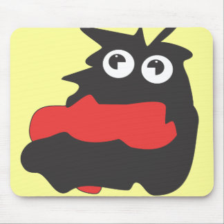 Drooling Monster Mouse Pad