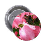 Drooping Dog Blossom Pinback Buttons