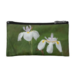 Drooping Irises Tote Bag Cosmetics Bags