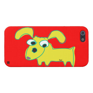 Droopy Ear Yellow Dog iPhone 5 Case