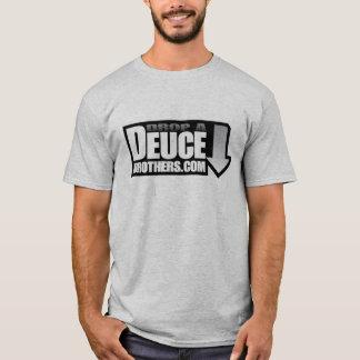 Drop a  Deuce Brothers Logo Gray T-Shirt