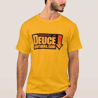 Drop a Deuce Brothers Logo Orange T-Shirt