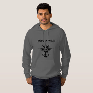 Drop Anchor Compass Rose Hoodie