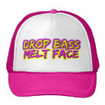 Drop Bass - Melt Face Mesh Hats