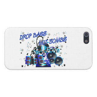 Drop Bass Not Bombs Case For iPhone SE/5/5s