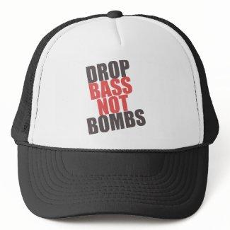 DROP BASS NOT BOMBS HAT