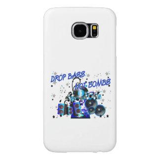 Drop Bass Not Bombs Music vs Violence Samsung Galaxy S6 Case