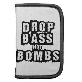 Drop Bass Not Bombs Planner